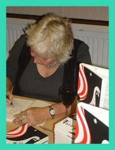 Sharon signing